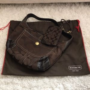 Cute Coach bag and wristlet